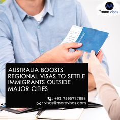 The government of Australia said on 26 Oct 2019 that it is raising the number of visas for skilled professionals who are willing to migrate to Australian regional areas in a bid to ease pressure on larger cities, where populations are increasing twice as quick as elsewhere.  #AustraliaImmigration #AustraliaPR #WorkinAustralia #SkilledRegionalVisa #SkilledWorkerProgram #MoreVisas Australia Immigration, Work In Australia, Regional, Raising, Larger, Cities, The Outsiders, Number, Sayings