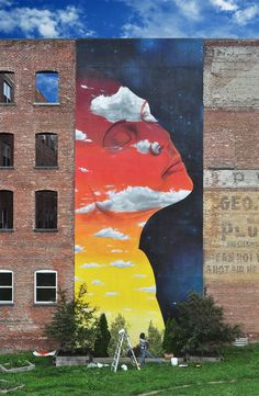 Mural by Dasic in New York This is Art, not Mine nor yours, but It deserves to be seen...by everyone...Share it... http://www.pinterest.com/apicalcommunity/boards/