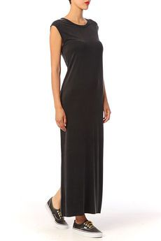Beautifully soft cupro maxi dress by American Vintage