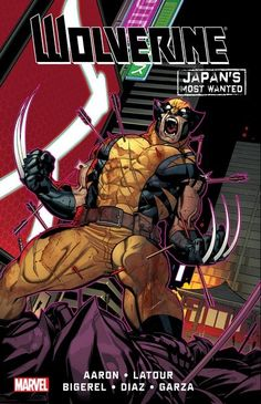 Wolverine – Japan's Most Wanted (2013) // Collects Wolverine: Japan's Most Wanted #1-13. Wolverine stars in a brand-new adventure from the mind of super-star writer Jason Aaron (WOLVERINE AND THE X-MEN, THOR ) that pits Wolverine against classic villains and a threat unlike any he has ever faced! #wolverine #japan #most #anted