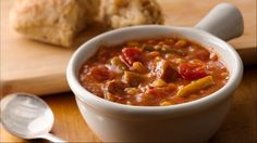 Reward yourself at the end of the work day with a slow cooker homemade soup.
