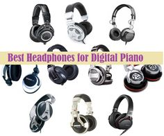 If you are a professional piano player and looking for best piano headphones, here is a list of top 5 piano headphone, a vital accessories to use with digital pianos. Best Digital Piano, Best Piano, Piano Player, Best Headphones, Music, Check, Top, Accessories, Pianos