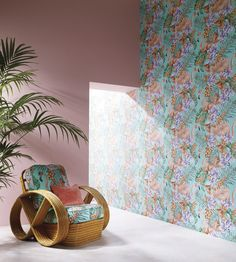 Flamingo Club Wallpaper by Matthew Williamson | Jane Clayton
