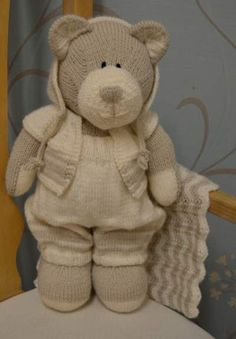 All Bear One Knitting Pattern Knitting pattern instructions to knit All Bear One…
