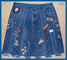 Textile fancy and not only: Denim skirts