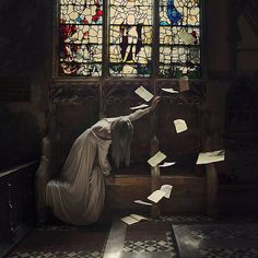 Starving for knowledge - Self-portrait Photography by Brooke Shaden   <3