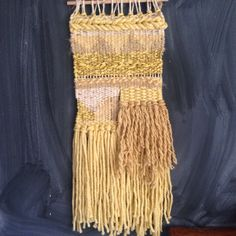 Mellow Yellow by WarpedThreadss on Etsy