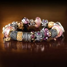 Discover Pandora's unique selection of jewelry including charms, rings, bracelets, and necklaces to match your personality. Pandora Beads, Pandora Bracelet Charms, Pandora Jewelry, Bling Bling, Bracelet Designs, Beaded Bracelets, Charm Bracelets, Bangles, Pandora Charms