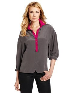 Twelfth St. by Cynthia Vincent Women's Color Block Blouse Twelfth Street by Cynthia Vincent. $202.50. 100% Silk. Great for day to night. Dry Clean Only. Long sleeve button down top. Made in China