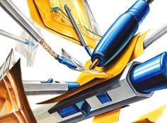 노원구미술학원 에이스에서 건국대 합격생 겨울특강 시험작을 공개합니다.(건대서울, 글로컬, 중앙대 삼관왕) : 네이버 블로그 Moleskine, Copic, Industrial Design, Surrealism, Design Art, Sketches, Watercolor, Drawings, Illustration