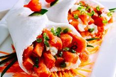Aprenda como preparar um prato surpreendente e leve: tapitemaki –mistura de temaki com tapioca.