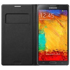 Samsung Funda Flip Wallet - Samsung Galaxy Note 3 (Blíster) Negra | InterTienda