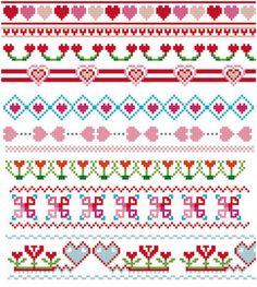 Resultado de imagen para patterns for cross stitch