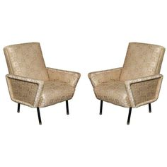 PAIR OF ITALIAN ARM CHAIRS MADE IN MILAN