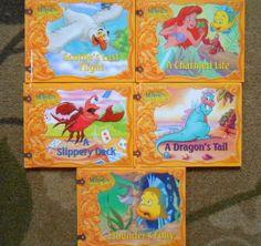 DISNEY The Little Mermaid's Treasure Chest 5 Books