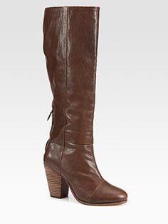 Rag & Bone - Newbury Leather Knee-High Boots