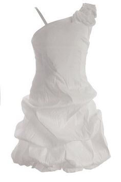 Fanny Look party dress white