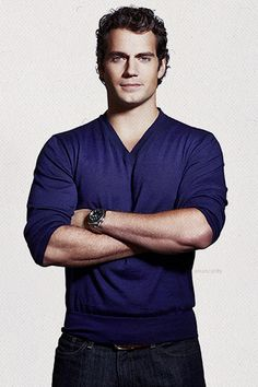 Henry Cavill. This guy was strait up BORN to play Superman. Like whoa.