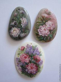 Пионы и Сирень. кулон - розовый,сиреневый,цветы,сад,садовые цветы,сирень