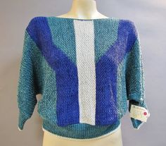 DEADSTOCK Vintage 1980's NEW WAVE Hipster by IncogneetoVintage