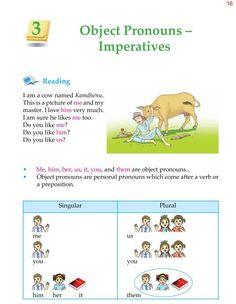 Grade Grammar Unit 3 Object Pronouns and Imperatives English Grammar Tenses, Teaching English Grammar, English Worksheets For Kids, English Writing Skills, English Reading, Grammar Lessons, Grammar Book, English Vocabulary, English Book