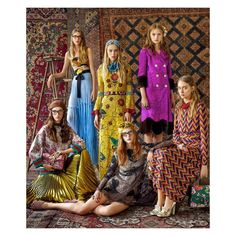 """""""In its September issue, @harpersbazaarus profiles #AlessandroMichele and gives a first look at his #GucciCruise16 collection. #GucciEditorials"""""""