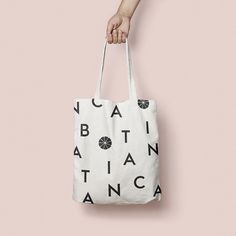 custom tote bag design as part of botanica restaurant's packaging | @jessicacomingre.