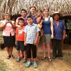 Cassandra McClure - 2015 Program Participant       Volunteers in Panama with local host family