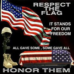 Honor............... Is second to none! Honor all those that have served this Great country!