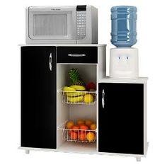 Organizador Con Canasto Frutero Porta Microondas Dispenser - $ 1.065,00
