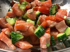 Shrimp Salad Recipe Low Carb for 7 Day Slim Down Meal Plan. Pair leafy greens with light protein of choice + homemade salad dressing for diet & weight loss. Salad Recipes Low Carb, Shrimp Salad Recipes, Seafood Recipes, Wine Recipes, Whole Food Recipes, Atkins Recipes, Low Carb Diet, Stuffed Peppers, Meals