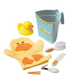 Love this Safety 1st Yellow Ducky Bath & Grooming Kit by Safety 1st on #zulily! #zulilyfinds