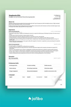 Our basic resume template offers a clear and unmistakable path to a complete resume. It gives you the idea of how to set up a resume with easy steps and a classic look #cv #cvtemplate #cvtemplates Basic Cv Template, Nursing Process, Basic Resume, Effective Communication, Compassion, Clinic, New Experience, Templates, How To Plan