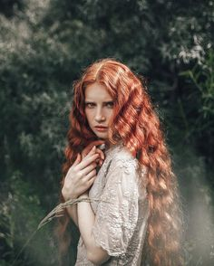 Photography Filters, Portrait Photography, Cut My Hair, Red Hair, Beautiful Fairies, Beauty Shots, Beautiful Long Hair, Fine Art Photo, Ginger Hair