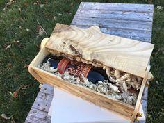 Hackberry wine gift box