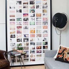 Imprimer ses photos instagram / Home / Des idées pour une décoration personalisée