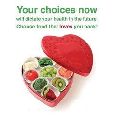 choose food that loves you back