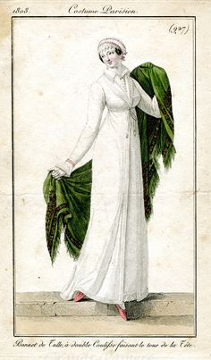 Very much like the pelisse, particularly the collar. Costume parisien, 1808