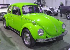 1972 Lime Green VW Super Beetle
