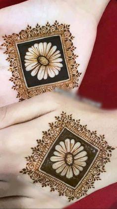 Round Mehndi Design, New Henna Designs, Henna Tattoo Designs Simple, Mehndi Design Pictures, Bridal Henna Designs, Mehndi Designs For Girls, Unique Mehndi Designs, Dulhan Mehndi Designs, Mehndi Designs For Hands