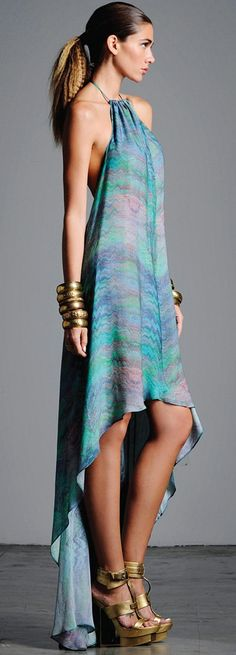 ALEXIS Corrina Silk Dress