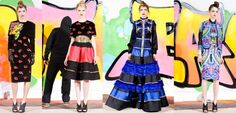 Manish Arora - Fall 2012 - Explosions of Color
