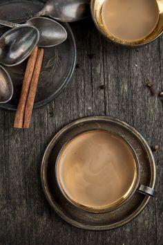 cioccolata calda e profumo di cannella