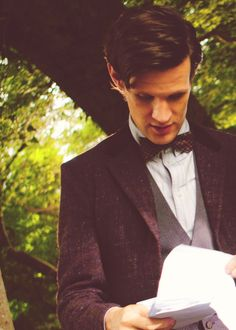Is that a new suit? Spoilers sweeties :) #DoctorWho