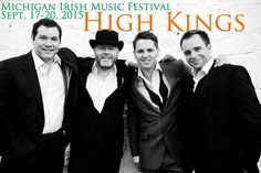 High Kings ~ Ireland's Folk Band of the year. Coming from accomplished Musical pedigrees The High Kings grew up in households soaked in the Irish Musical tradition and each member of the band witnessed first hand the power of well crafted Irish music on an audience. Since starting in 2008, they have sold out hundreds of shows in Ireland & the US, made numerous TV appearances, recorded 4 albums & achieved platinum status with their 1st 2.