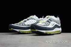"competitive price 3f85e 3e4fc Nike Air Max 98 OG ""Volt"" Cool Grey Volt-Black-Metallic"