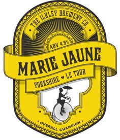 Ilkley Brewery - Marie Jaune - Blonde Beer with French Hops