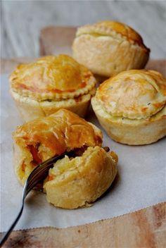 In de keuken: Winterse pasteitjes Muffin, Healthy Recipes, Snacks, Vegetables, Breakfast, Quiche, Pie, Foods, Future