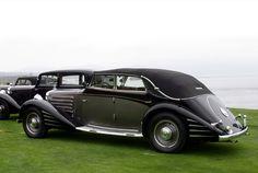 Spohn Maybach DS8 Zeppelin Cabriolet 1934