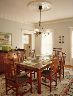 26 Charming Craftsman Dining Room Lighting Design | Perfect Dining Room |  Pinterest | Craftsman Dining Room, Lighting Design And Craftsman